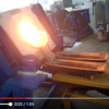 copper/brass/iron/steel/aluminum metal melting equipment 50-250kg