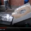 50kg,100kg ,150kg small aluminum smelting  furnace/machine
