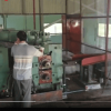 rolling mill working on site