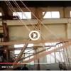 Upward copper continuous casting machine