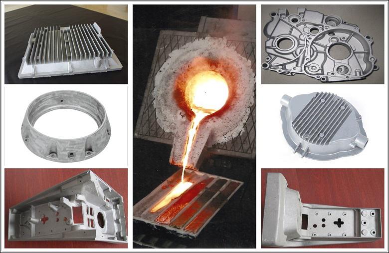Aluminum-melting-machine-onsite