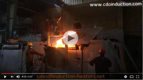 aluminum-shell-induction-melting-on-site