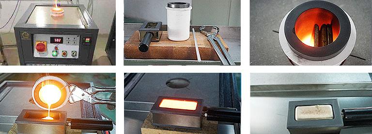 Intergrated gold melting machine description
