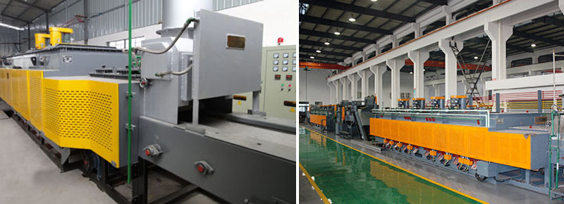 mesh-belt-conveyor-muffle-furnace-for-heat-treating