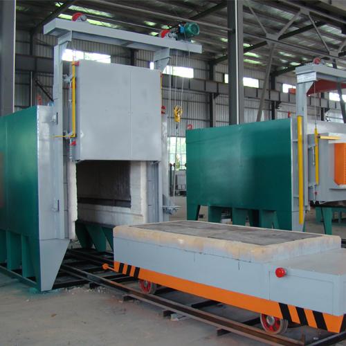Car Bottom Heating Treatment Furnace Cooldo Industrial Co Ltd