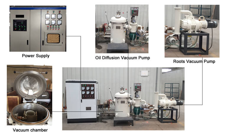 vacuum induction furnace 10kg