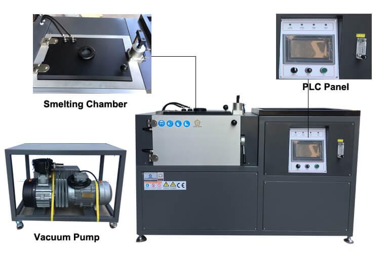 vacuum casting mahcine PLC strcture