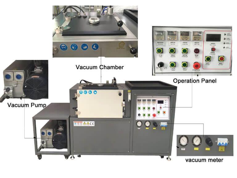 vacuum melting machine-structure