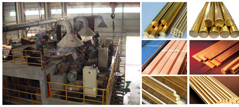 copper casting machine application