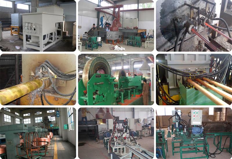 copper casting machine picture