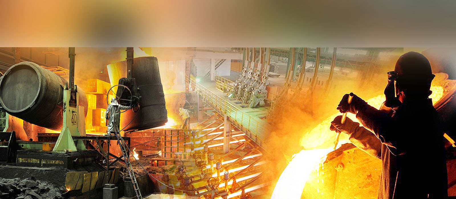 melting furnace for steel plant and foundry using