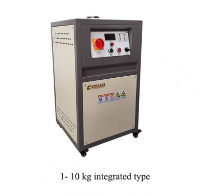 1-10kg gold melting furnace
