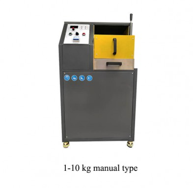 1-10kg manual gold melting furnace
