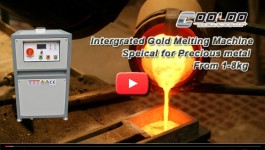 Integrated gold melting machine1-10kg