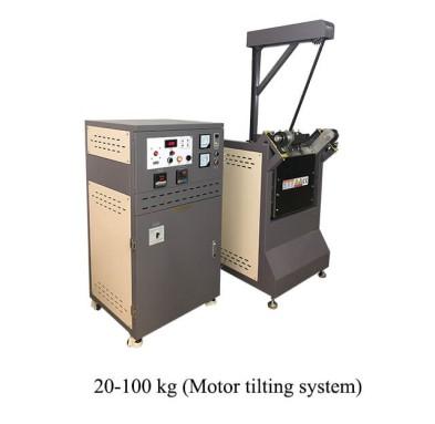 20-100 kg gold melting furnace