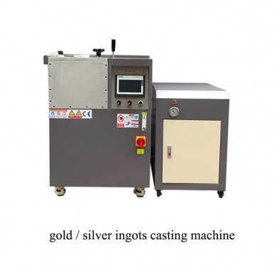 gold/silver ingots casting machine