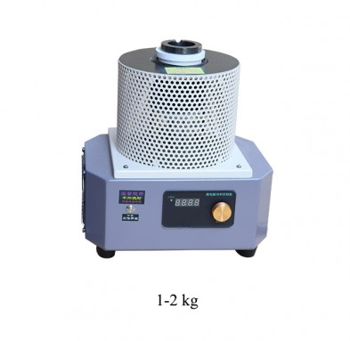 1-2kg gold melting furnace