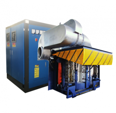 steel frame induction furnace