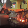 Automatic nut forging press equipment