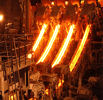 Continuous-Casting-Machine-working-onsite-1