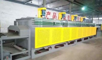 Mesh Belt Heat Treatment Oven
