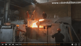foundry furnace for sand casting