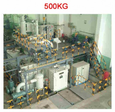 500kg Vacuum Induction Melting Furnace