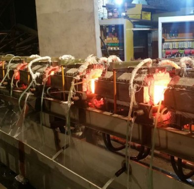 induction-reheating-machine