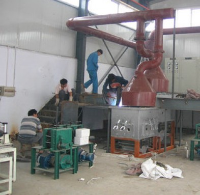 Bronze tube casting machine