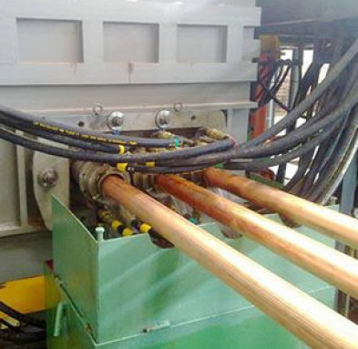 copper rod casting machine