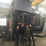 Algeria-Customers-250kg-induction-furnace