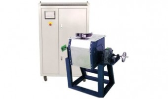 Manual Tilting Small Induction Melting Equipment