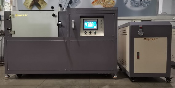 Gold Bullion Vacuum Casting Machine With Water Cooling System