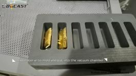 Gold silver ingot Vacuum Casting Machine