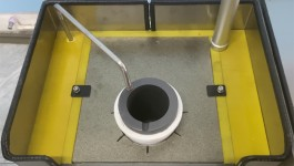 Double crucible smelting machine