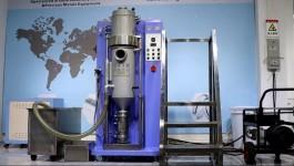 Silver granule casting machine