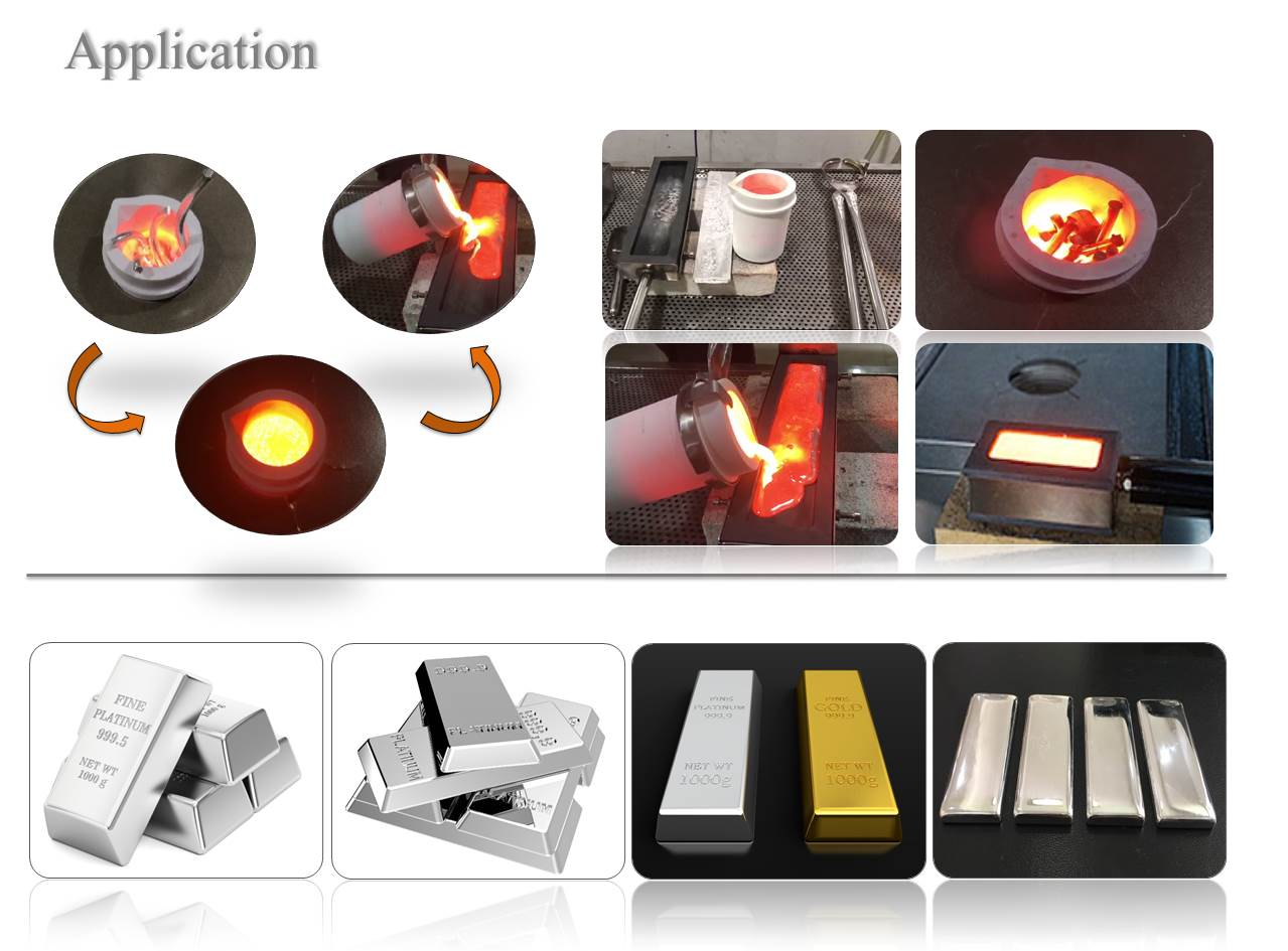 gold melting furnace 10kg