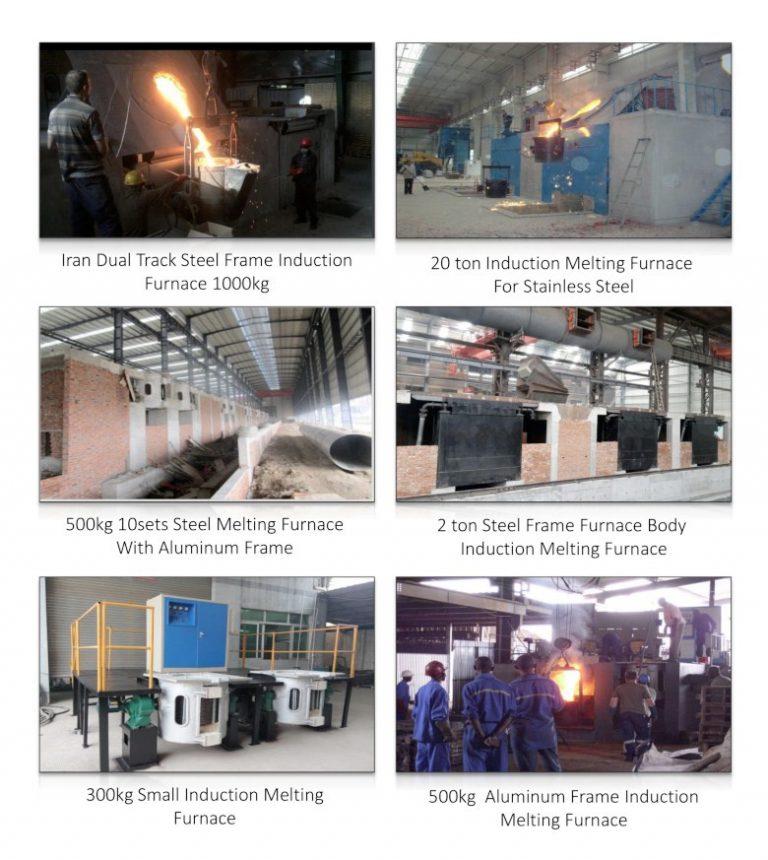 induction melting furnace cooldo