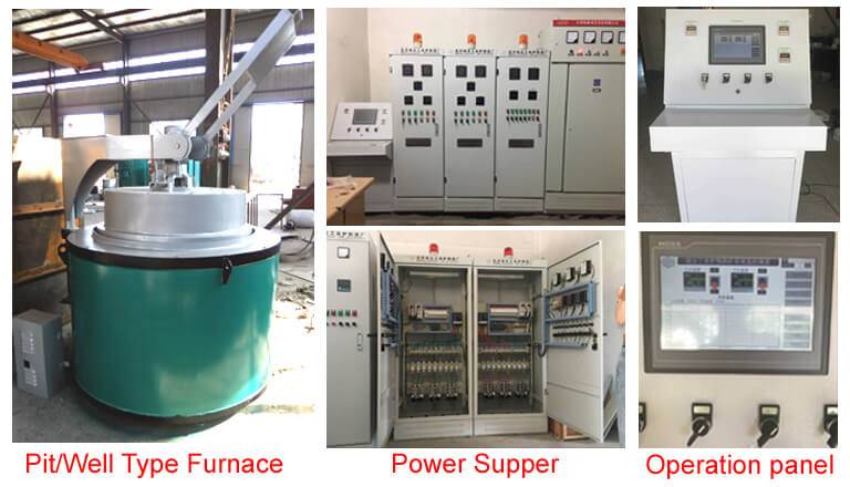 electric resistance gas nitriding furnace