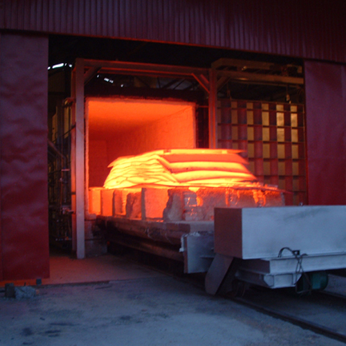 Car Bottom Heating Treatment Furnace Cooldo Industrial Co Ltd