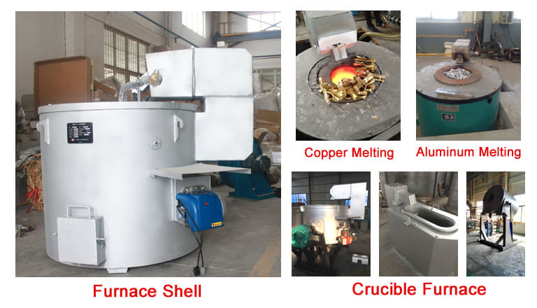 Gas Metal Melting Furnace-structure