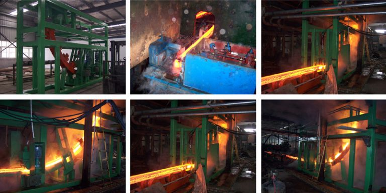 60mm billet continuous casting machine