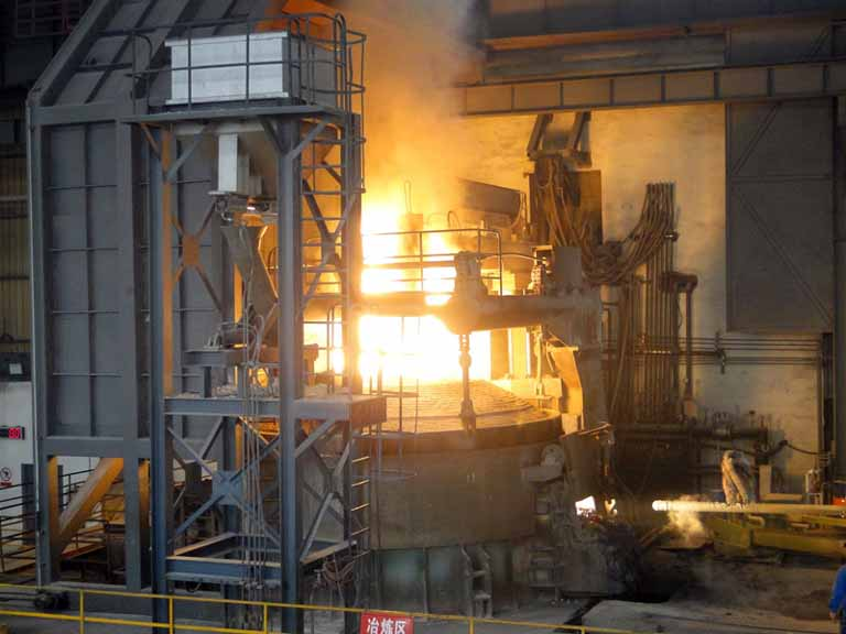 electric arc furnace application