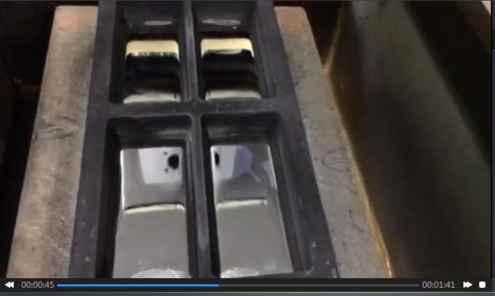 Vacuum Protection Silver Casting Machine Cooldo
