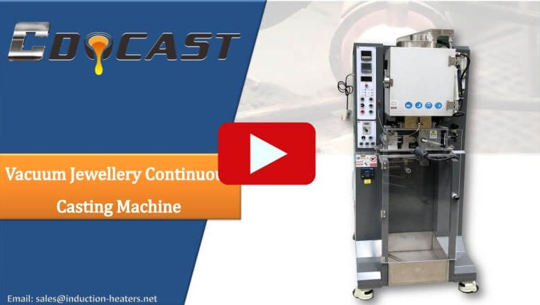 Vacuum Jewellery Continuous Casting Machine