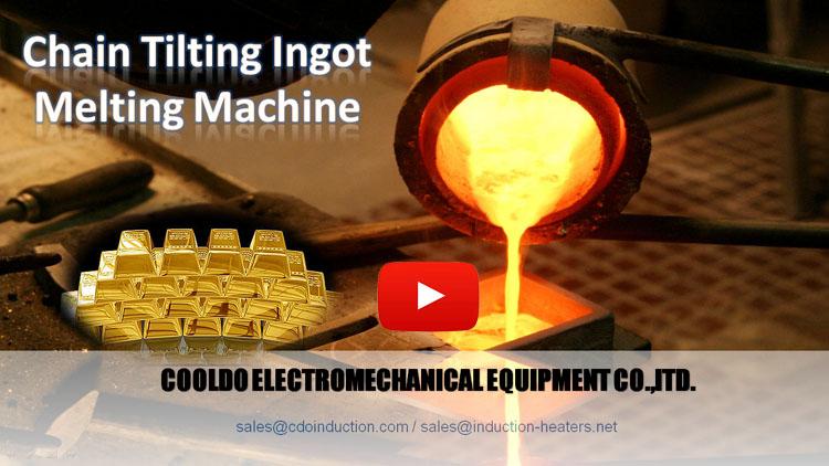 chain tilting type ingot gold melting machine(1)