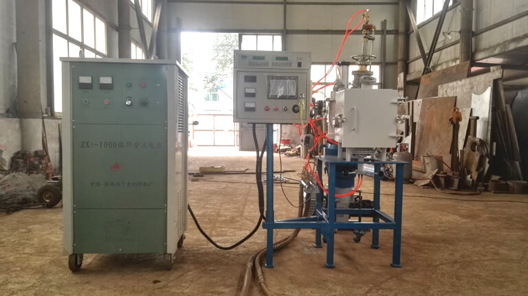 Small Vacuum Consumable Electrode Arc Furnace