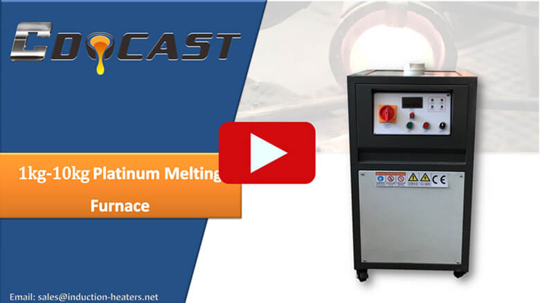 1-10kg platinum melting furnace video