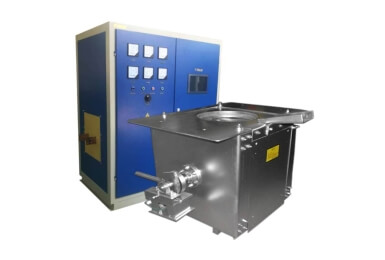 50-100kg Small induction with motor tilting