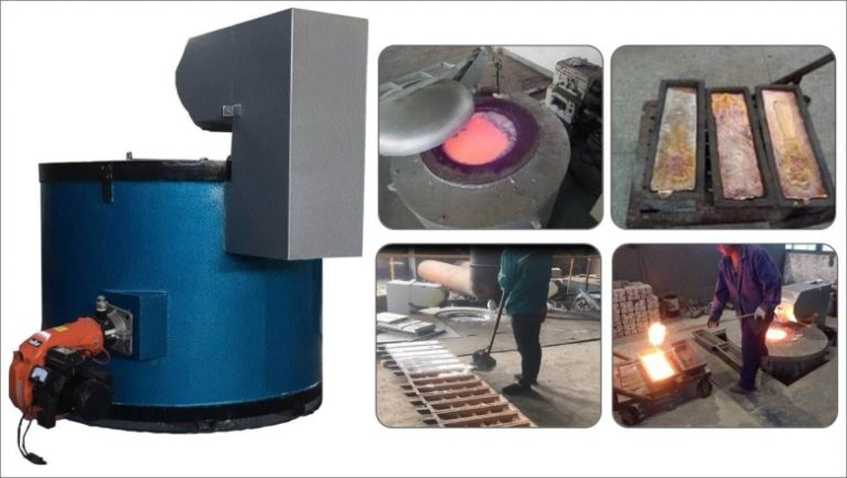 gas-melting-furnace-application